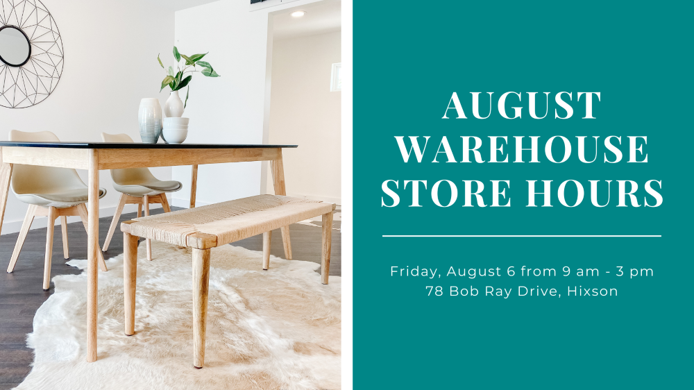 August Warehouse Store Sale